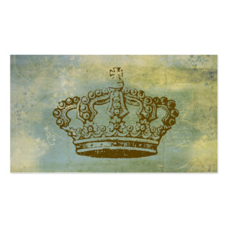 Cartes de visite vintages de style de couronne fra modèles de cartes de visite
