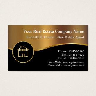 Cartes d'entreprise immobilière