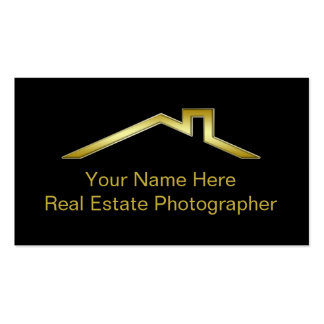 Cartes d'entreprise immobilière carte de visite standard