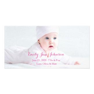 Cartes photos de faire-part de naissance cartes de vœux avec photo