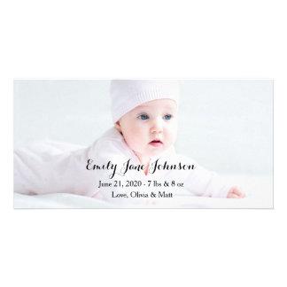 Cartes photos de faire-part de naissance photocartes