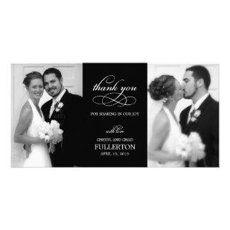 Cartes photos simplement jolis de Merci de mariage Photocarte Customisée