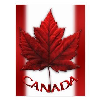 Cartes postales canadiennes de souvenir de cartes