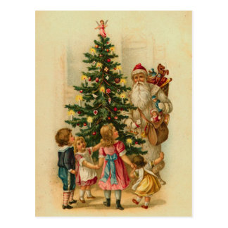 Cartes postales de Noël de Père Noël d'Allemand