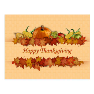 Cartes postales de thanksgiving