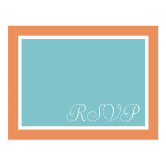 Cartes postales les épousant turquoises de