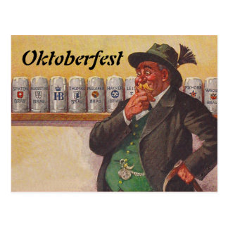 Cartes postales vintages de choix d Oktoberfest Oc