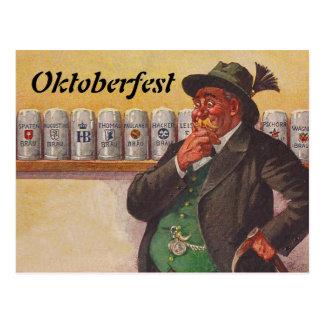 Cartes postales vintages de choix d'Oktoberfest Oc