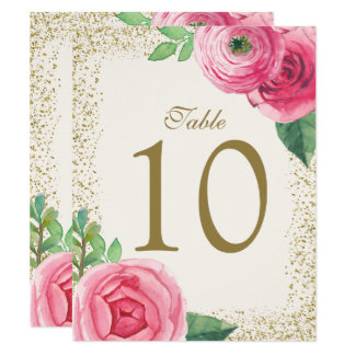 Cartes pour aquarelle de nombre de Tableau de Carton D'invitation 10,79 Cm X 13,97 Cm