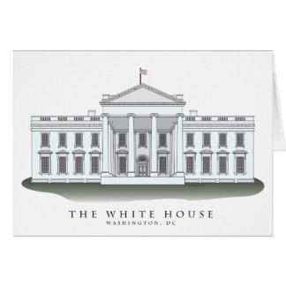 Cartes pour notes de la Maison Blanche
