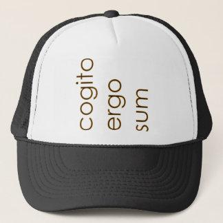 Cartesian Cogito Trucker Hat