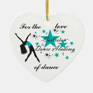 Cartesion Dance Heart Ornament