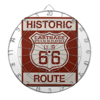 Carthage Route 66 Dartboard