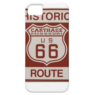 Carthage Route 66 iPhone 5 Covers