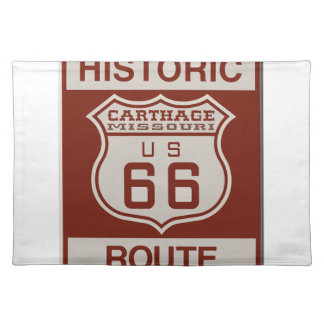 Carthage Route 66 Place Mats