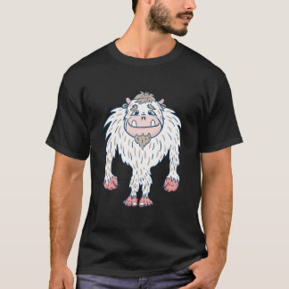 Cartoon Abominable Snowman T-Shirt
