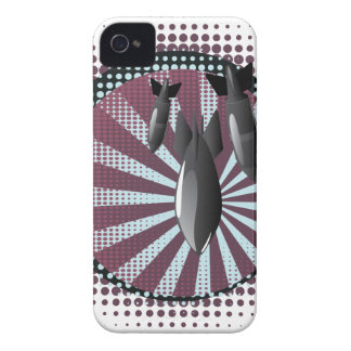 Cartoon Air Bomb 2 iPhone 4 Case