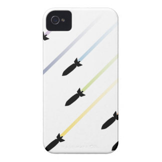 Cartoon Air Bomb 3 iPhone 4 Covers