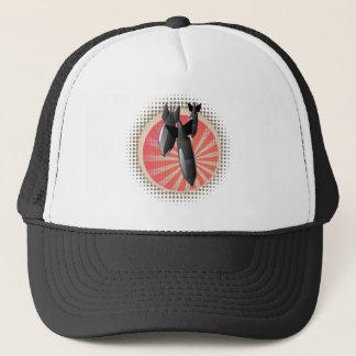 Cartoon Air Bomb Trucker Hat