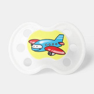 cartoon airplane pacifiers