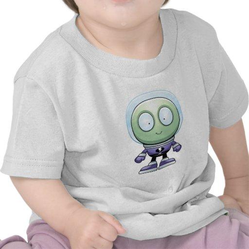 Cartoon Alien T-shirts