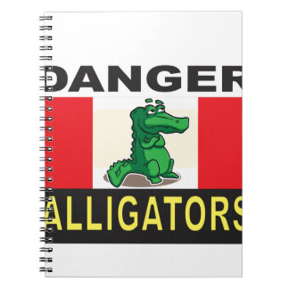 cartoon alligator help notebook