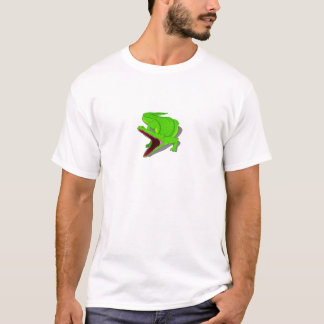 Cartoon Alligator with Its Mouth Open T-Shirt