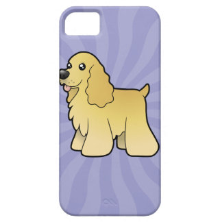 Cartoon American Cocker Spaniel iPhone 5 Case