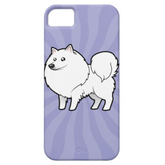 Cartoon American Eskimo Dog / German Spitz iPhone 5 Cases
