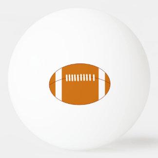 Cartoon American football ball, Ping Pong Ball