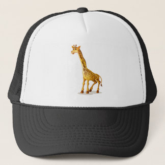 cartoon animal trucker hat