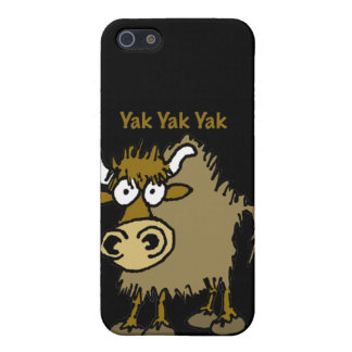 Cartoon animal yak iPhone 5 cover