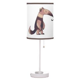 cartoon anteater table lamp