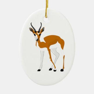Cartoon Antelope Ceramic Ornament