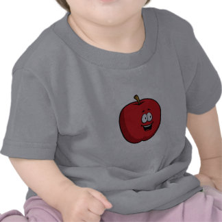 Cartoon Apple T-Shirt