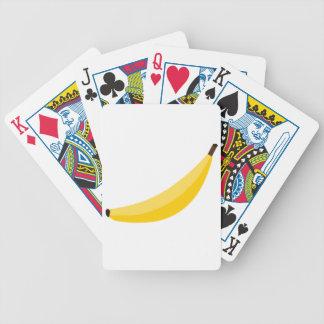 Cartoon Banana Bicycle Playing Cards