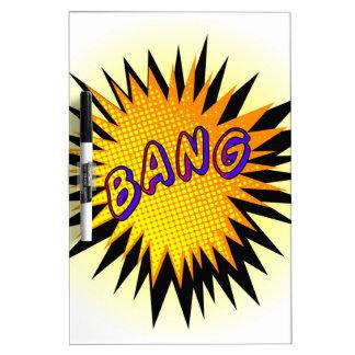 Cartoon Bang Dry Erase Boards