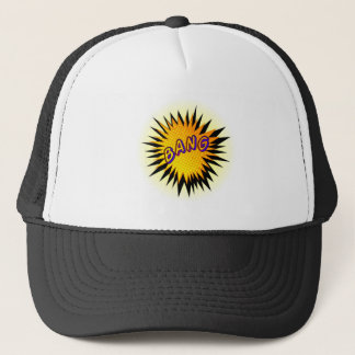 Cartoon Bang Trucker Hat