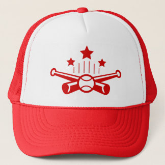 Cartoon Baseball Hat