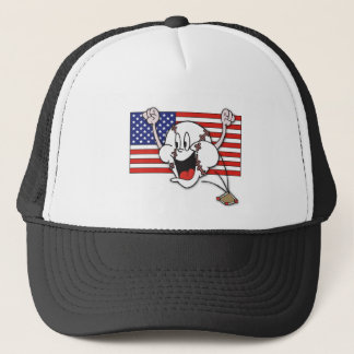Cartoon Baseball Trucker Hat