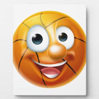 Cartoon Basketball Ball Character Plaque