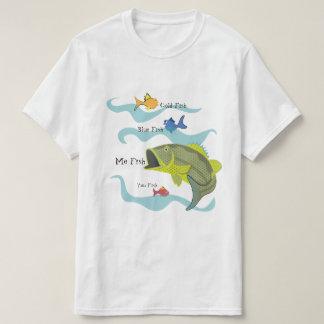 Cartoon Bass Fishing T-Shirt
