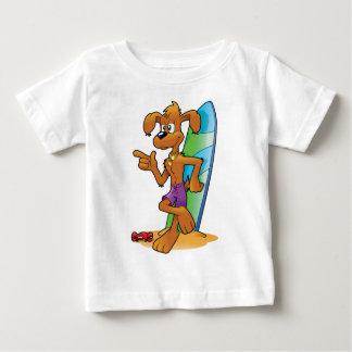 cartoon beach dog baby T-Shirt