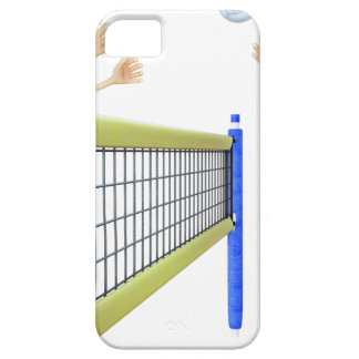 Cartoon Beach Volleyball Players iPhone 5 Case
