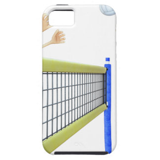 Cartoon Beach Volleyball Players iPhone 5 Cover