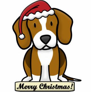 Cartoon Beagle Christmas Ornament Photo Sculpture Ornament