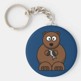 Cartoon Bear Keychain