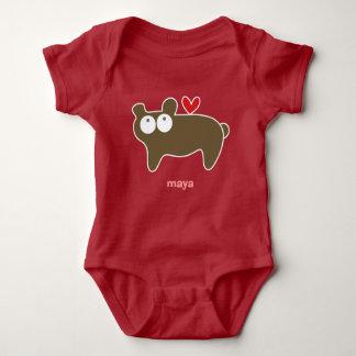 Cartoon Bear Kid Cute Fun Custom Gift T-Shirt