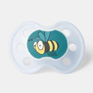 Cartoon bee baby pacifier
