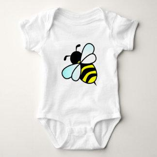 Cartoon Bee/Honeybee Baby Bodysuit